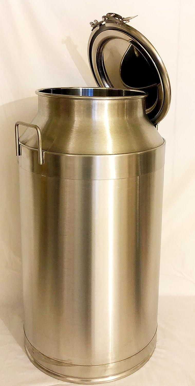 Amazon.com: 50 litros (13,2 Galón) sanitaria tambor de acero ...