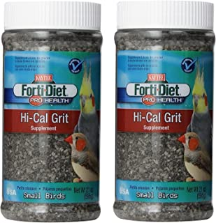 product image for Kaytee Forti-Diet Pro Health Hi-Calcium Grit for Small Birds, 21-oz jar (42oz)