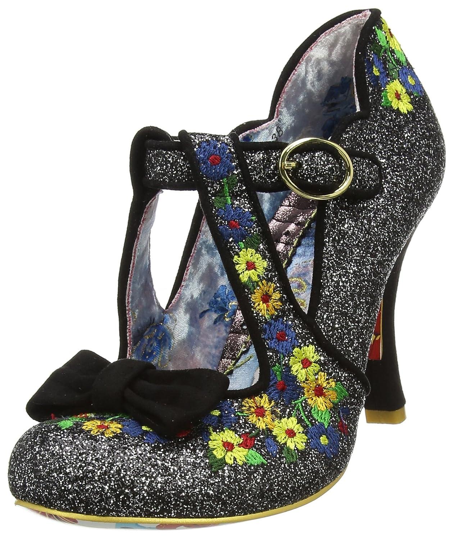 TALLA 39 EU. Irregular Choice All Scone - Zapatos de tacón con Punta Cerrada Mujer