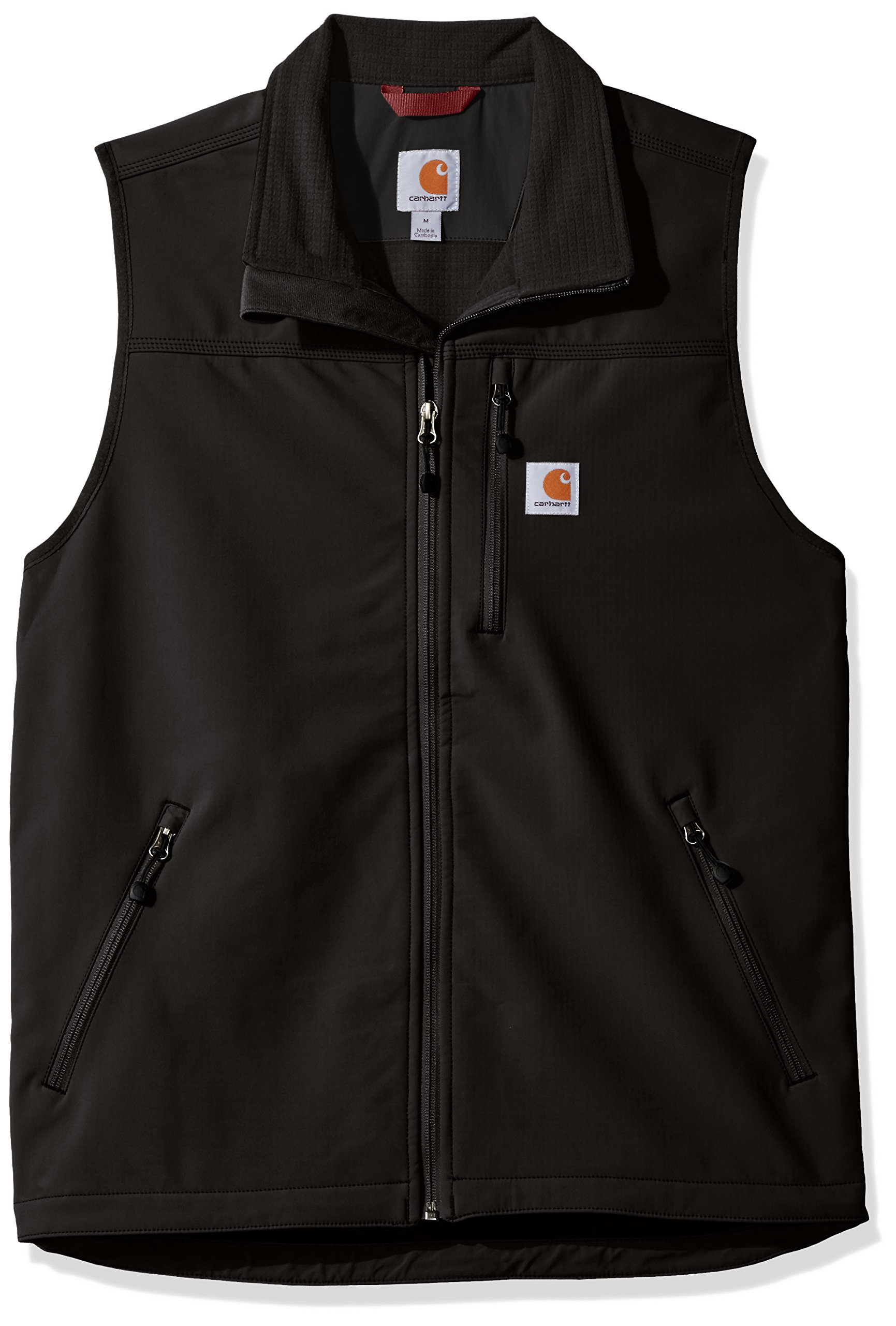 Carhartt Men's Denwood Vest, Black, X-Large