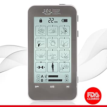 Massage Therapy Concepts FDA TENS Best Electric Muscle Stimulator