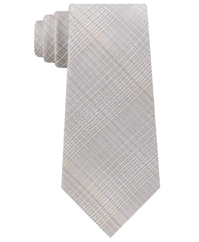 Calvin Klein - Corbata de seda para hombre, color lila - Beige ...