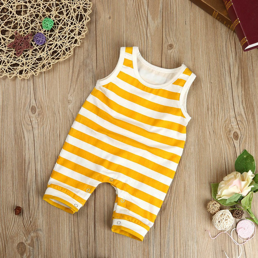 Palarn Stylish Toddler Jumpsuit, Baby Boys&Girls Striped Sleeveless Cute Romper Outfits Clothes by Palarn (Image #6)