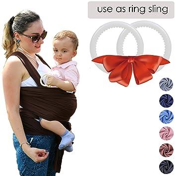 02a86b1a719 Amazon.com   Hicoco Baby Wrap Carrier