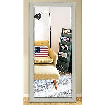 Amazon.com: Rayne Espejos US Made clásico y Color blanco con ...