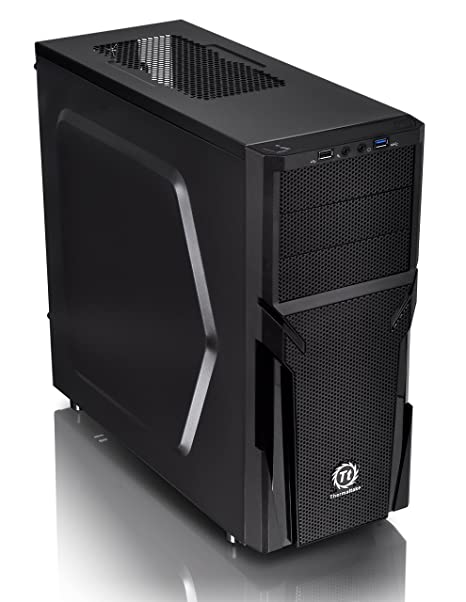 Thermaltake Versa H21 SPCC ATX Mid Tower Computer Chassis CA-1B2-00M1NN-00