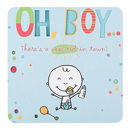 Hallmark 25452853 - Tarjeta de felicitación por nacimiento con ...