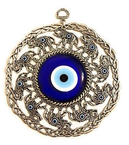 Bion, Large Evil Eye Wall Hanging, Turkish Evil Eye, Greek Evil Eye - Big  Evil Eye Wall Decor, Turkish Evil Eye, Greek Evil Eye, Nazar, Evil Eye Bead