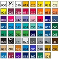 Deals on Oracal 651 Ultimate 5-ft Length Assortment All 63 Colors
