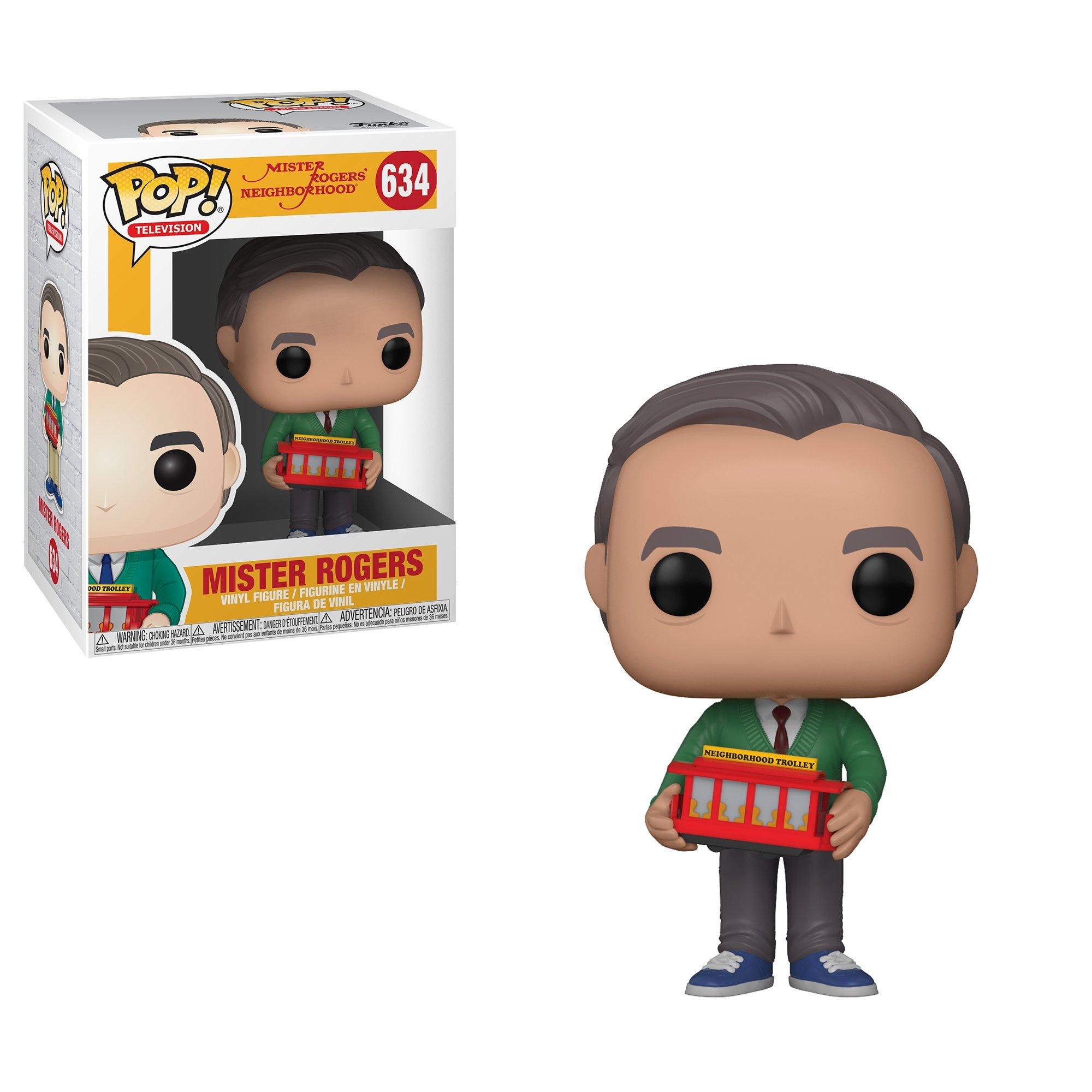 Funko Pop TV Mr Rogers Collectible Figure, Multicolor