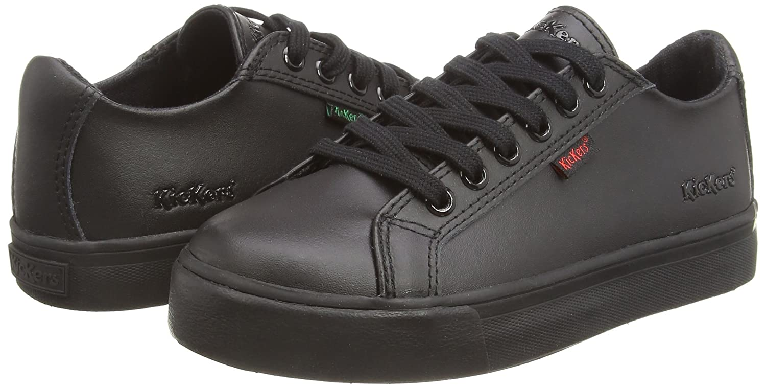61be0f62 Kickers Boys Tovni Lace, Junior Low-Top Sneakers: Amazon.co.uk: Shoes & Bags