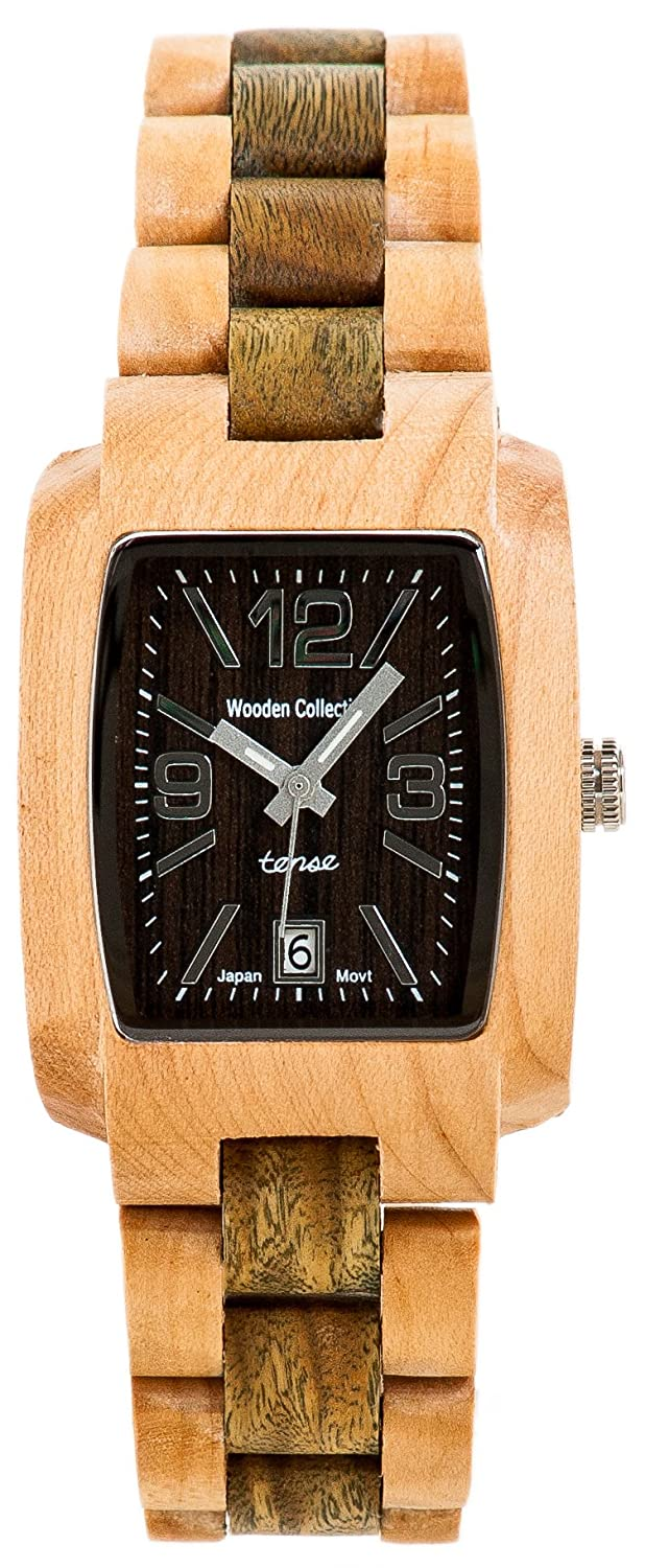 d3fe18d8172 Amazon.com  Tense Wood Watch Timber Collection - J8102MG  Watches