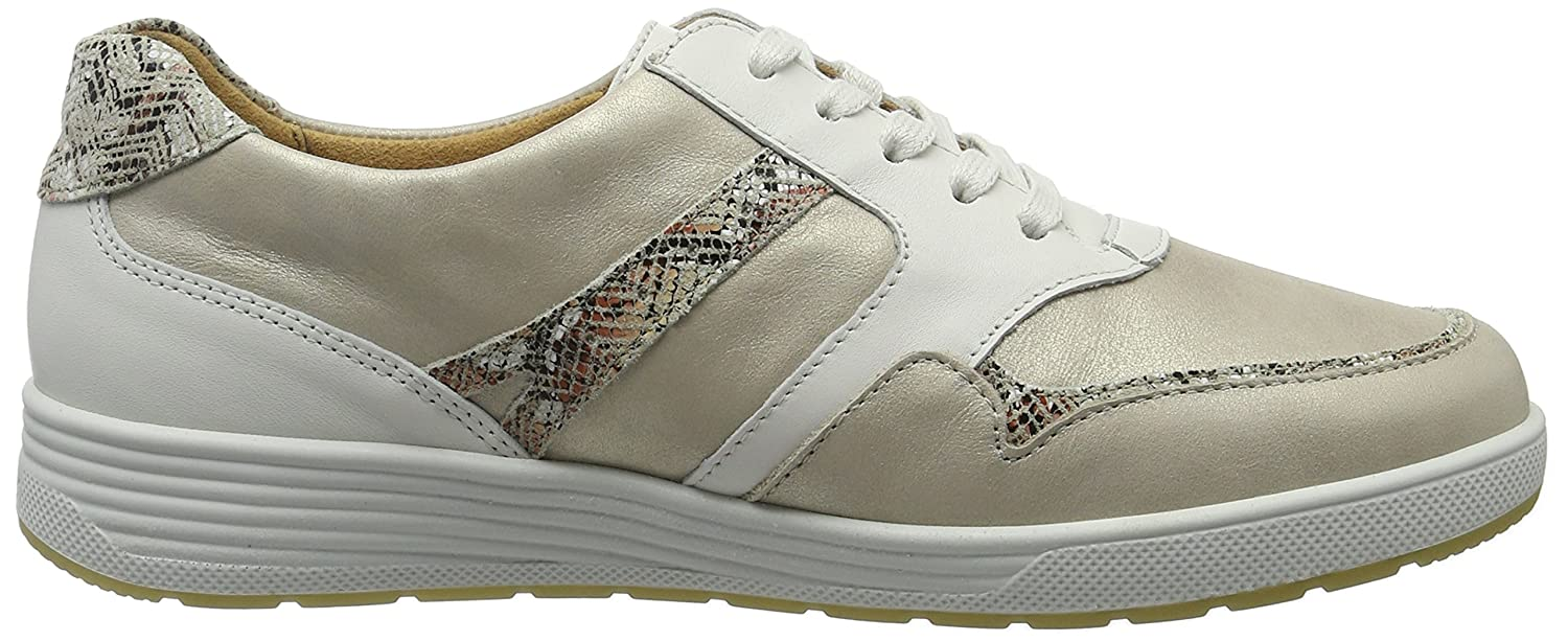 Ganter Sneakers Damen Sensitiv Klara-k Sneakers Ganter Beige (Weiss/Creme) f6bf0b