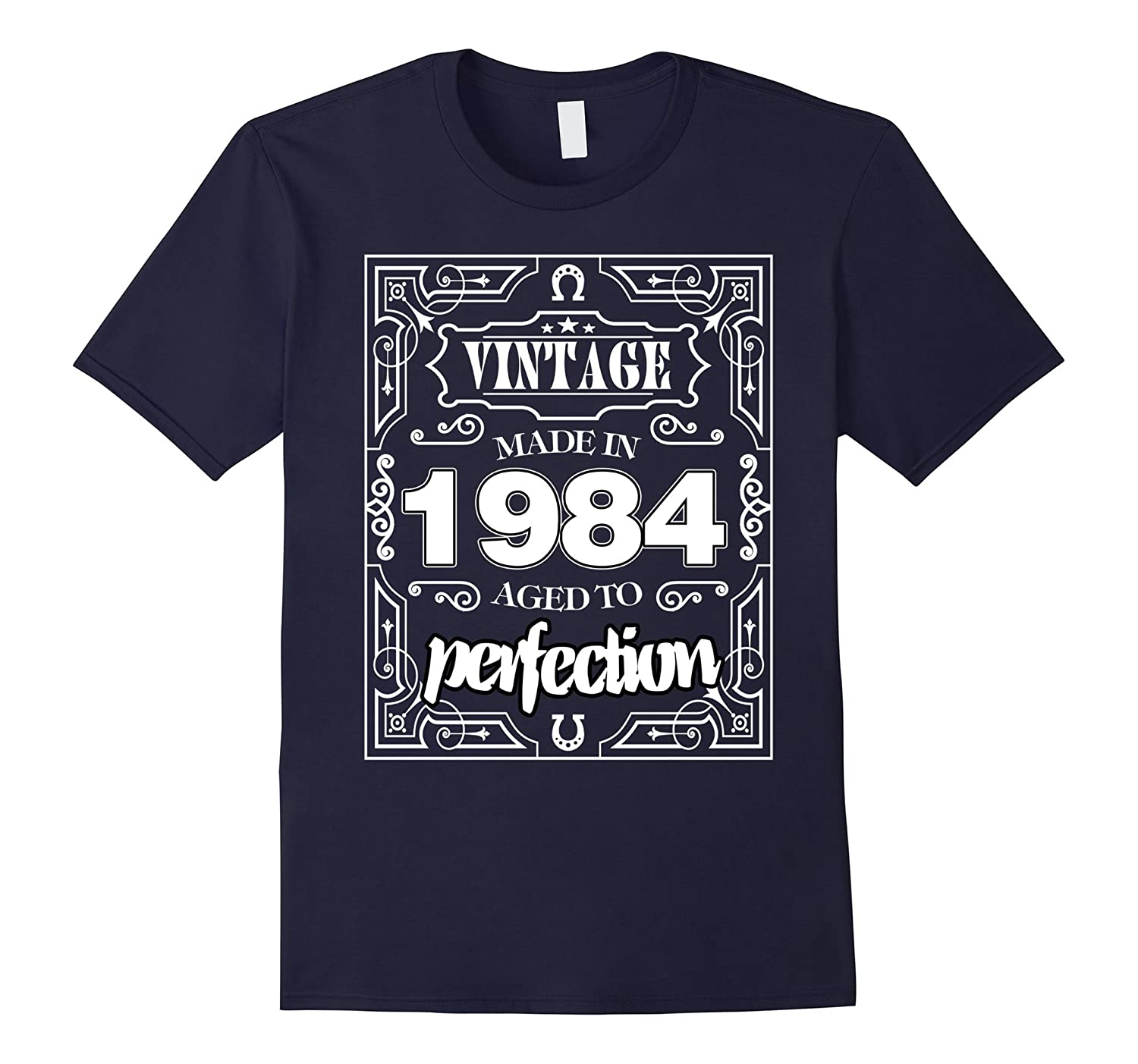 33 Birthday Made in 1984 Gift ideas Funny Men T shirt-TJ