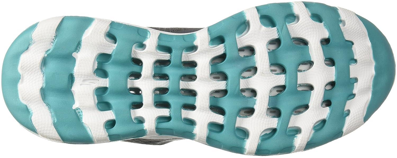Skechers Performance Woherren Go Walk Cool-15651 Turnschuhe Charcoal Turquoise Turquoise Turquoise 6.5 M US 21b027