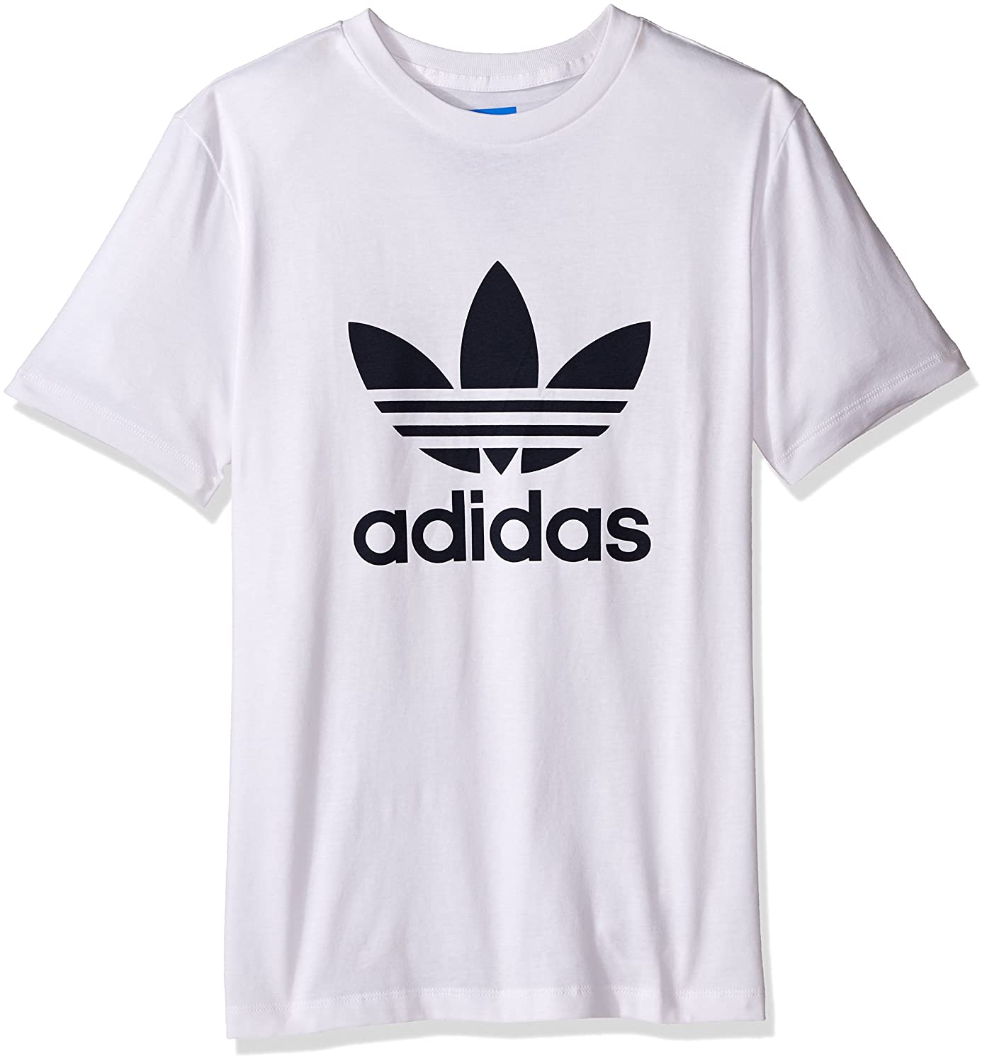 sports shoes ab278 05bae Amazon.com  adidas Originals Boys  Trefoil Tee  Clothing