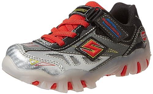 | Skechers Kids 90471L Halt Light Up Sneaker