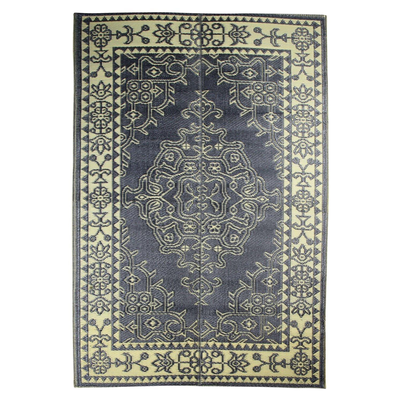SAVON Persian Rug Design, Plastic Sleeping Mat, Camping, Backpacking, Hiking Carpet