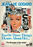 Two or Three Things I Know About Her [DVD] [1967]