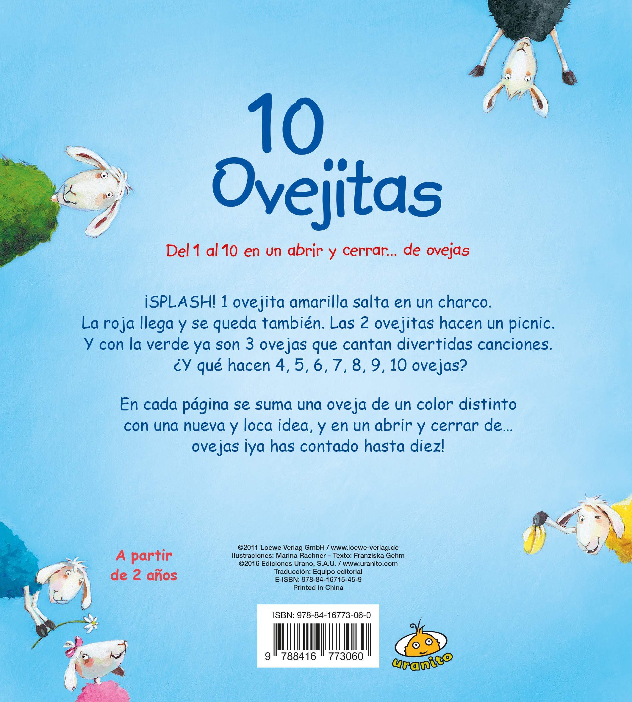 ea9be7c0518 10 ovejitas (Bebeteca)  Amazon.es  FRANZISKA GEHM  Libros