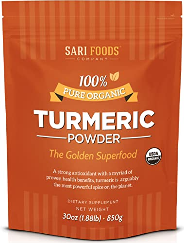 Natural Organic Turmeric Powder 30 Ounce Natural