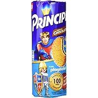 Principe Galleta Relleno de Chocolate - Pack de 3 x 300 g - Total : 900