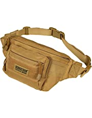 Seibertron Military Outdoor Casual Fanny Pack Bum Bag Riding Running Race Waist Bag Multi-Function Chest Bag Satchel Treadmill Carrying iPhone 4/5/5S/5C/6+