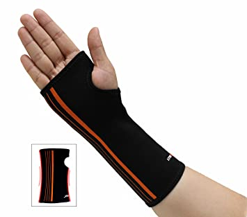 3102df3853 NEOALLY Compression Sleeve for Wrist and Forearm Support Brace for Carpal  Tunnel, Arthritis, Tendonitis