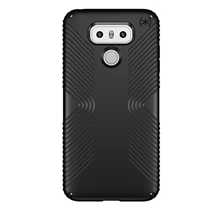 san francisco 3aa3b 03742 Speck Products Presidio Grip Cell Phone Case for LG G6 - Black/Black