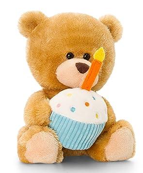Peluche Ours, Pipp The Bear Happy Birthday, Teddy avec gâteau et bougie Cerise kuchseltier