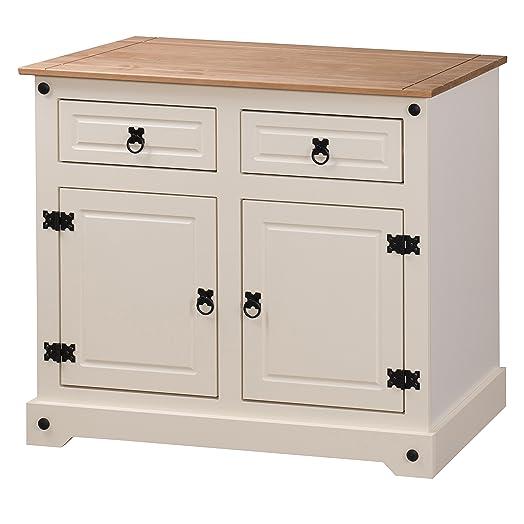 Mercers Furniture Corona – Mueble con 2 puertas y 2 cajones, madera ...