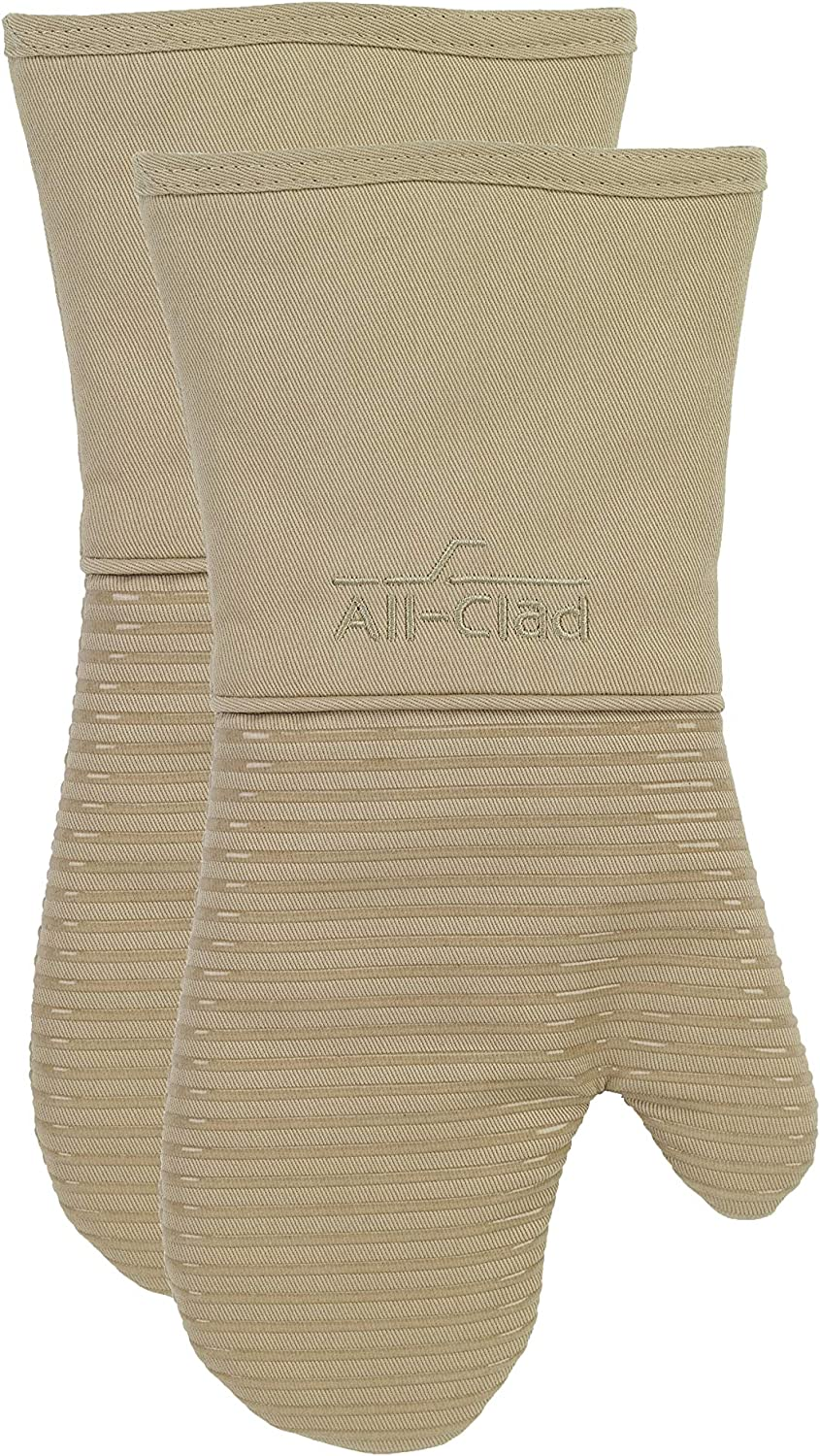 All-Clad Textiles Oven Mitt, 2 Pack, Cappuccino, 2 Count