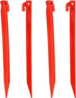 Set of 12 Plastic Tent Pegs Tent Stakes  sc 1 st  Amazon.com & Amazon.com : Coleman 10-In. Steel Tent Stakes : Sports u0026 Outdoors