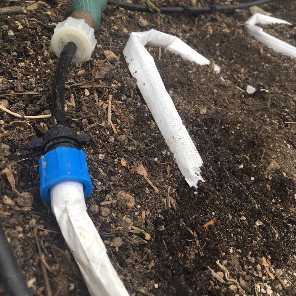 4/'x8/' Garden Beds Blumat EasySoak Automatic Watering Slow Soaker Hose System for Two 2 and Fittings Included Adapters Flow Restrictor