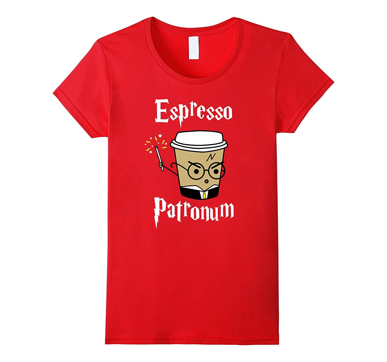 Womens Espresso Patronum T-Shirt   Cute Coffee Tee-TH