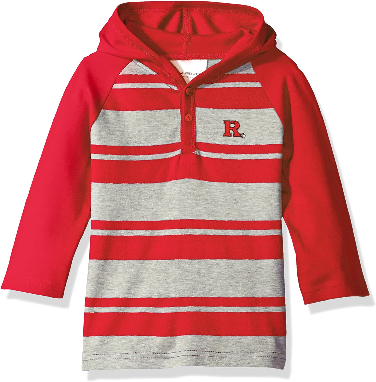 Rutgers University Baby Snap Hooded Jacket
