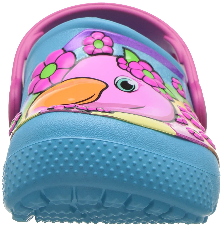 8019c9a03c5 Crocs Unisex Kids' Fun Lab K Fmgo/Ebl Clogs: Amazon.co.uk: Shoes & Bags