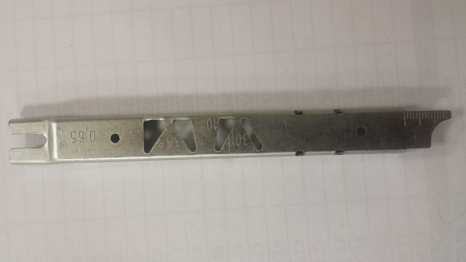 CHAINSAW RAKER FILING GUAGE AND BAR CLEANING TOOL ISE