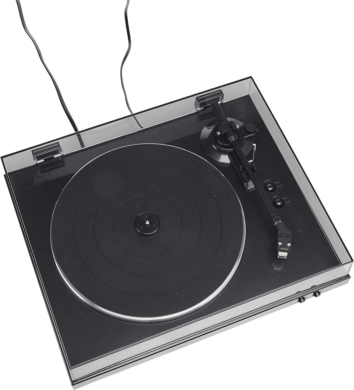 Amazon.com: Denon DP-300F tocadiscos análogo ...