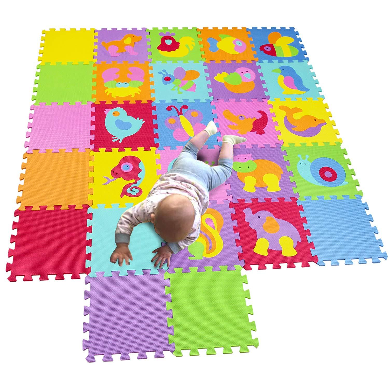 MQIAOHAM Alfombra Infantil Puzzle Bebe Suelo Goma eva Parque Juego ni/ños Foam colchoneta Bebes Juegos Manta para alfombras Infantiles Zona Acolchado Juguetes P011014G300918