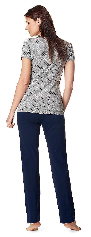 Noppies lactancia pijama Anika - 2 in1 sueño camiseta + pantalones pijama pijamas pijama de lactancia maternidad ropa de dormir: Amazon.es: Ropa y ...