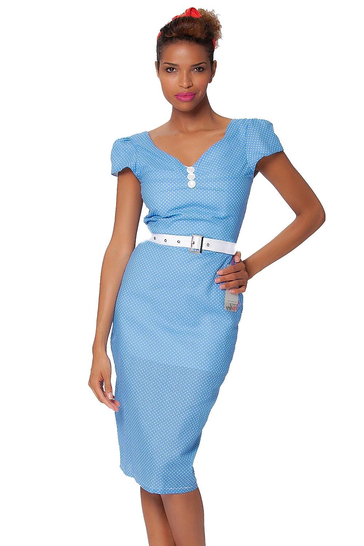 sexyher damen 1950 vintage style bicolor klassische verkleiden rbjw1447 bicolor online bestellen. Black Bedroom Furniture Sets. Home Design Ideas