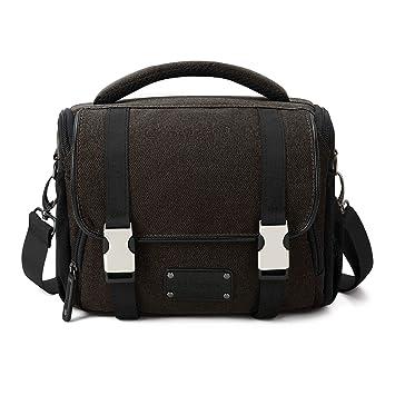 3a2d9ec8638 BAGSMART Small SLR/DSLR Camera Bag Case with Waterproof Rain Cover, Dark  Olive: Amazon.ca: Camera & Photo
