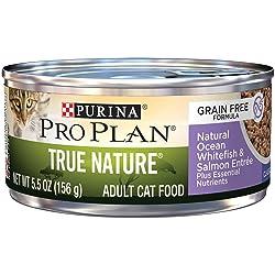 Purina Pro Plan Natural, Wet Cat Food; True Nature