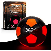 Light Up Soccer Ball, Perfect Gift For Boys, Get Them Off Their Screens, Out Of The House & Enjoying Fit Healthy Fun With Their Family & Mates. This Glow In the Dark Ball Has Batteries & Pump Included. Standard Size 5