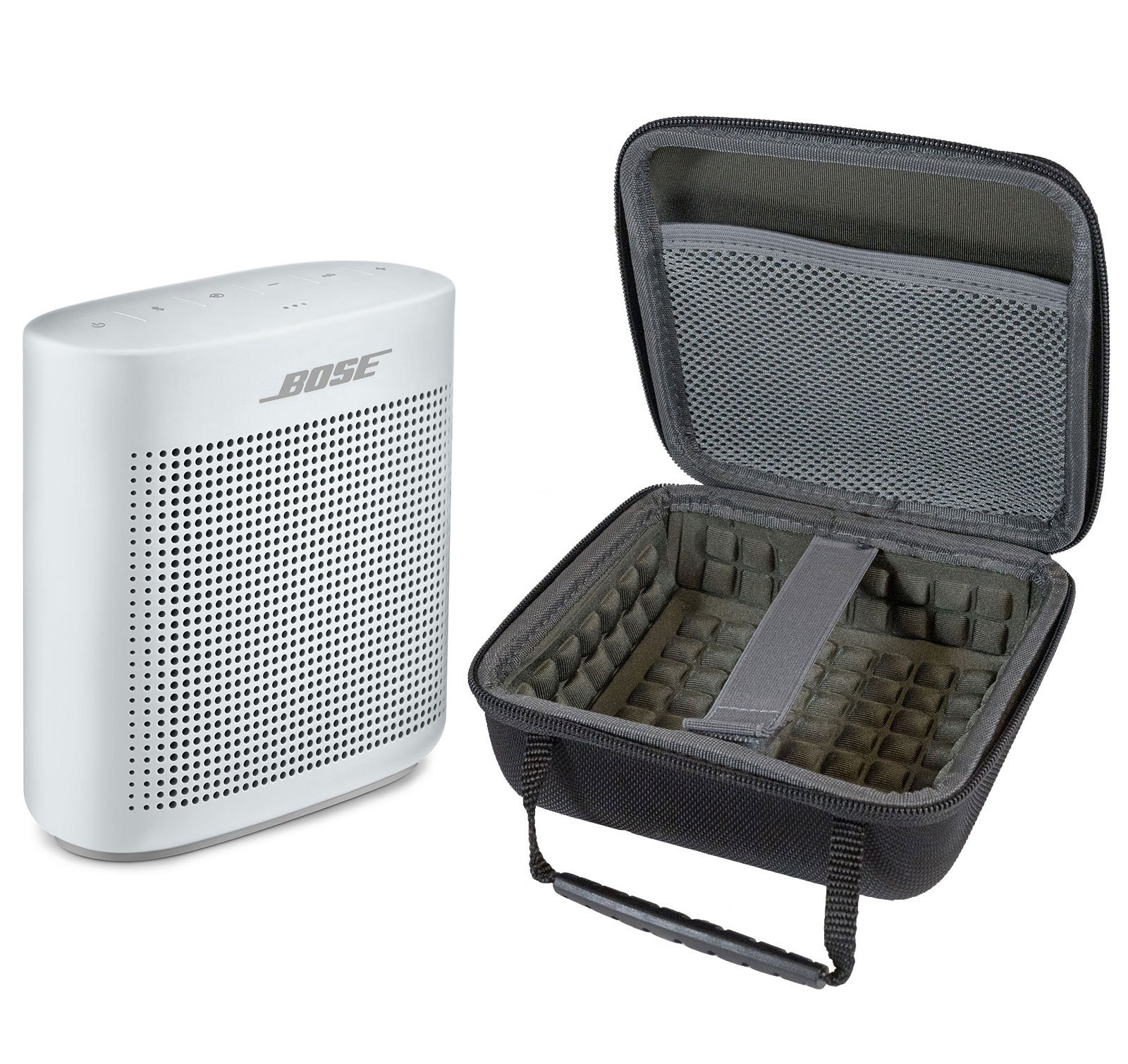 Bose SoundLink Color II Bluetooth Speaker, Polar White, with Portable Hardshell Travel Case by Bose