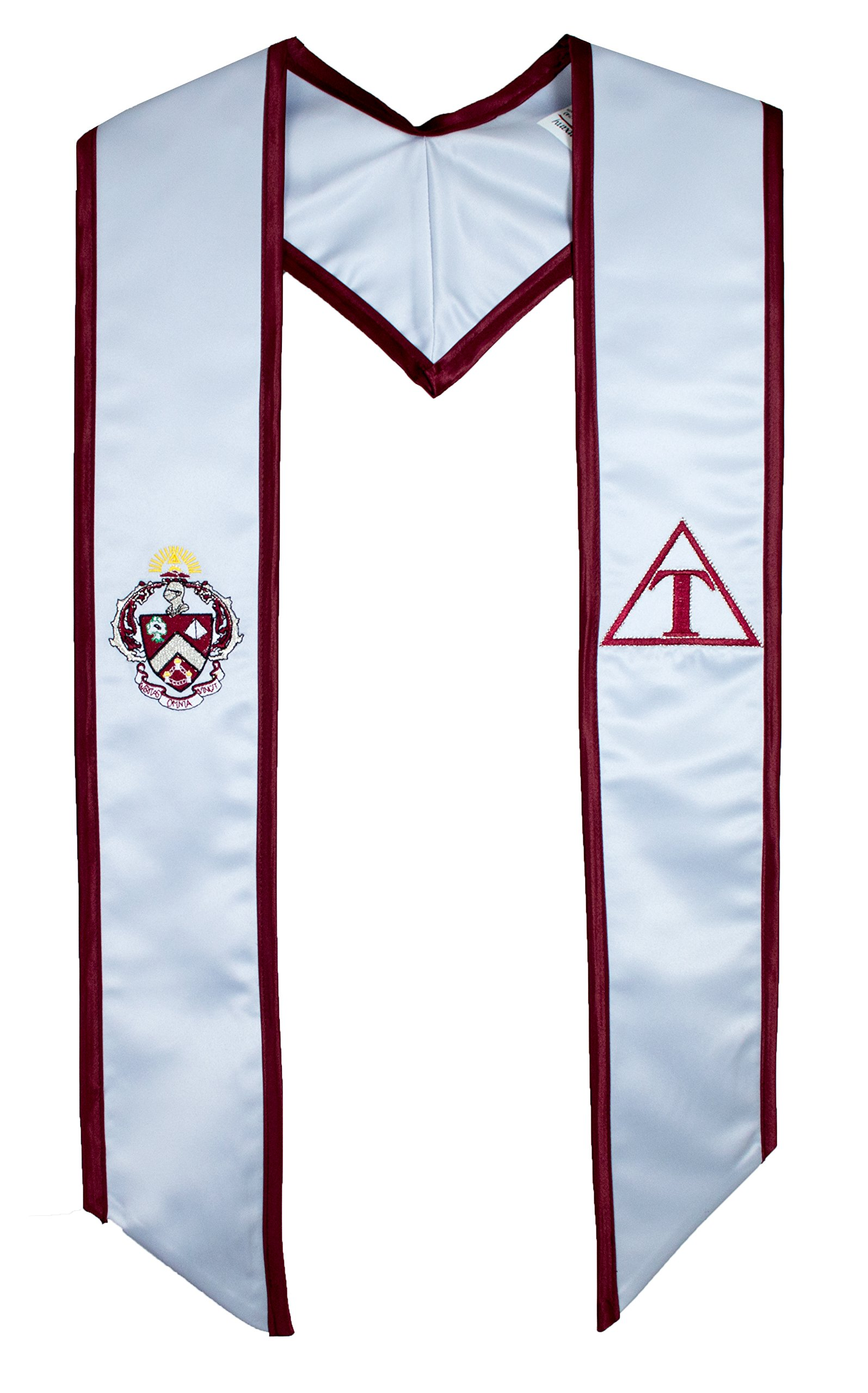 Triangle Fraternity Deluxe Embroidered Graduation Stole