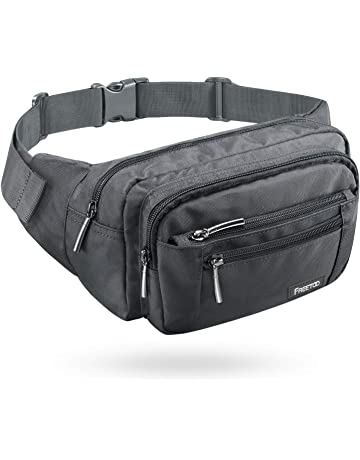 FREETOO Waist Pack Bag Fanny Pack for Men Women Hip Bum Bag with Adjustable  Strap for Outdoors a3fda83904fbf