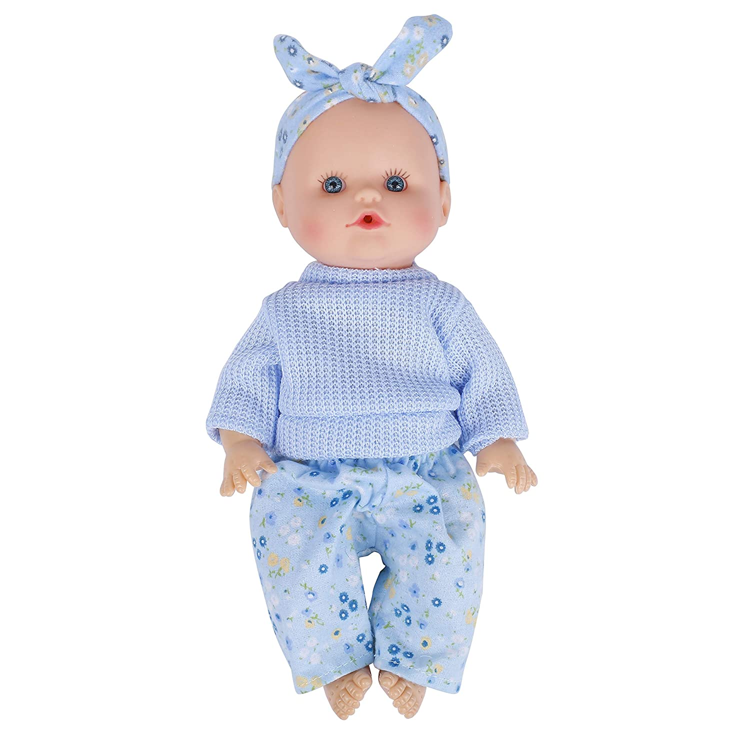 LedyToys 12-Inch Baby Doll Set with Accessories Built-in Vocal Function,Realistic Baby Doll Gift Set for 3 Children Girls /& Boys