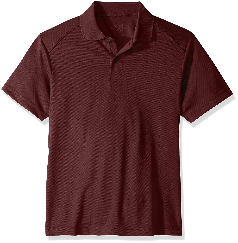 Ashe Xtream Boys Acty-65108-shield Snag Protection Short-Sleeve Polo